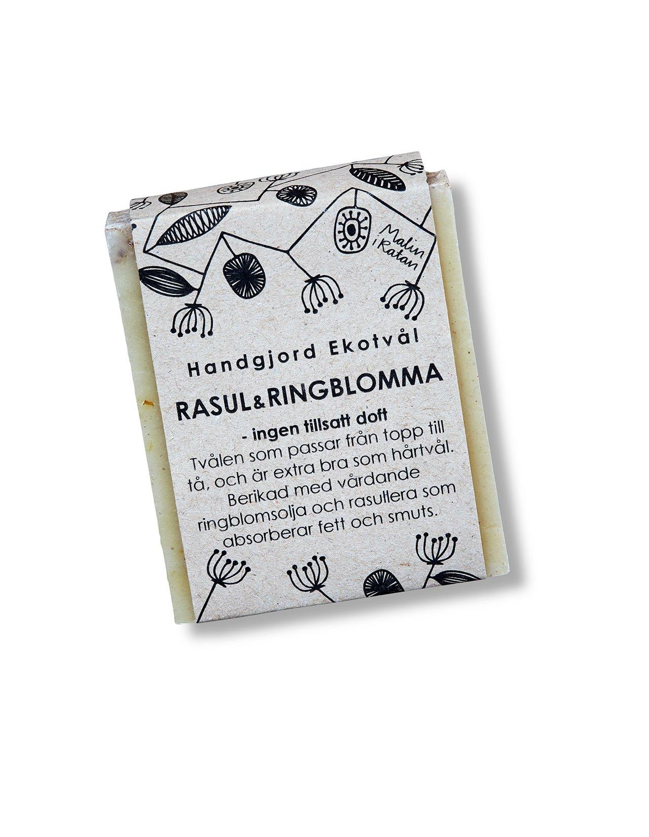 Handgjord Ekotvål Rasul & Ringblomma - ingen tillsatt doft