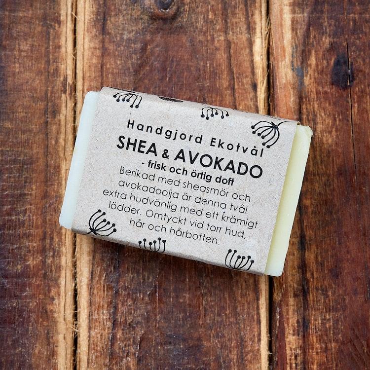 Handmade Eco Soap Shea & Avocado - fresh herbal scent