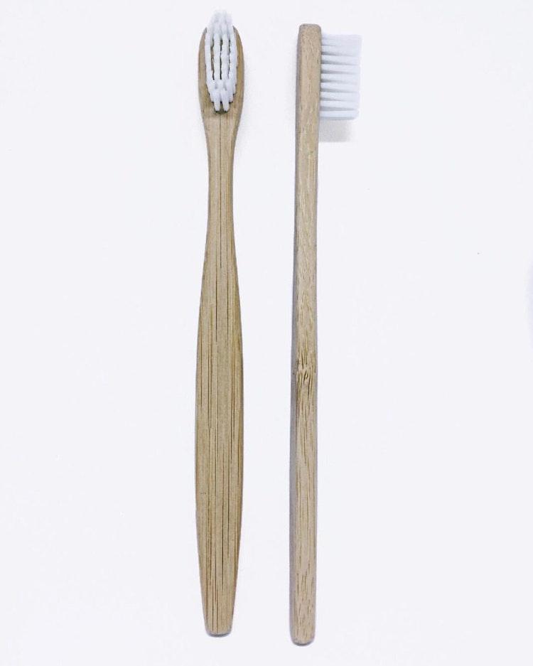 Tandborste bambu