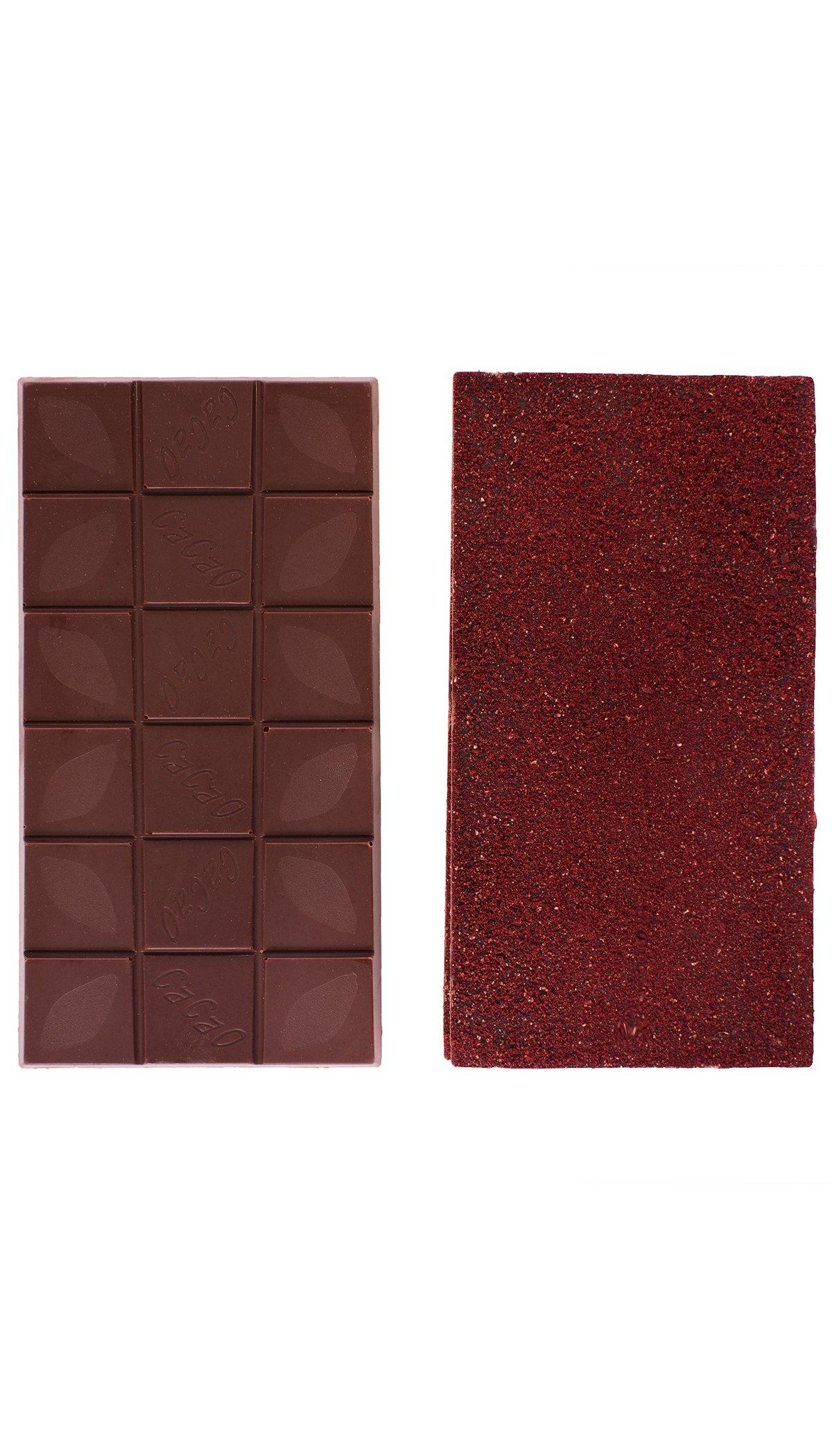 Choklad 65% med Svarta Vinbär