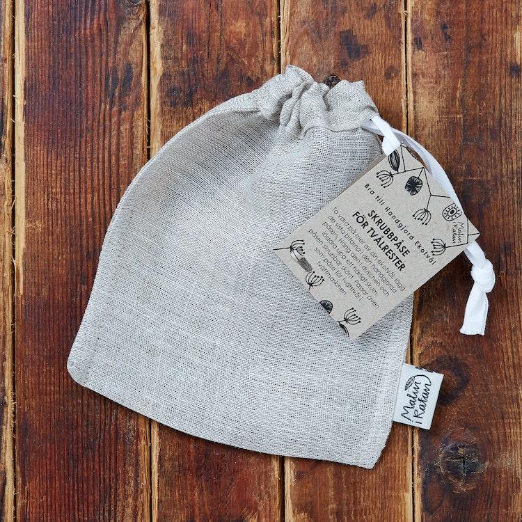 Scrubbing bag for soap scraps
