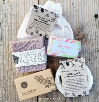 Gift Set Flowery Soaps
