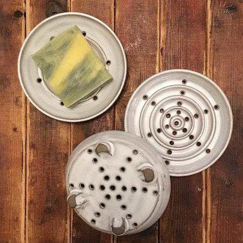 Tvålfat keramik
