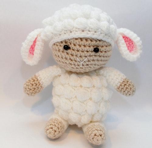 Lammet Ullrik  amigurumi