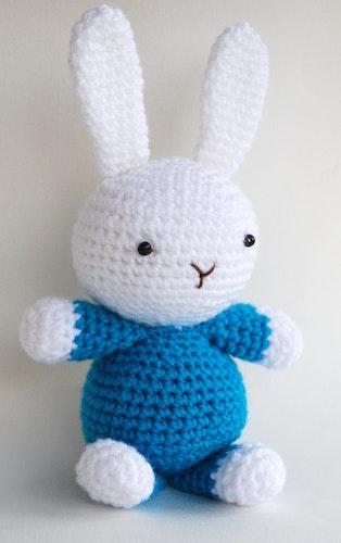 Kanin Hopps-Ann virkmönster amigurumi
