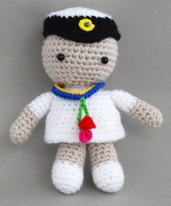 Student version 2 virkmönster amigurumi