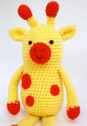 Giraffen Ralf virkmönster amigurumi