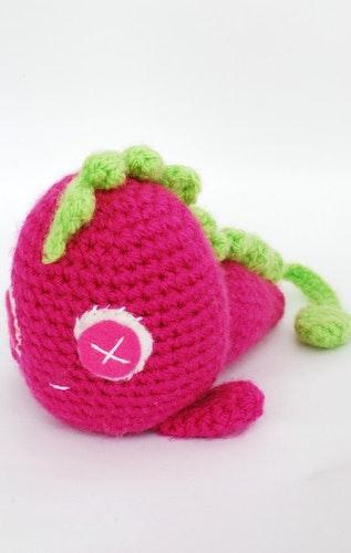 Rosa monster virkmönster amigurumi