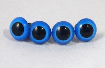5 par blå säkerhetsögon