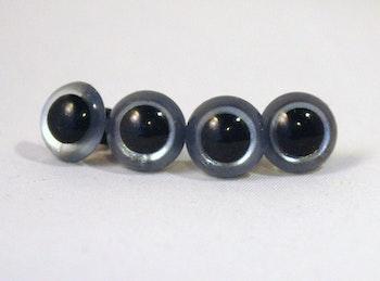 5 par grå säkerhetsögon