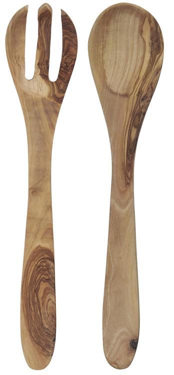 Salladsbestick i trä