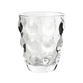 Vacker ljuslykta i glas.