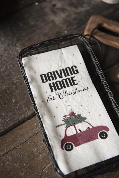 Servett Driving Home for Christmas
