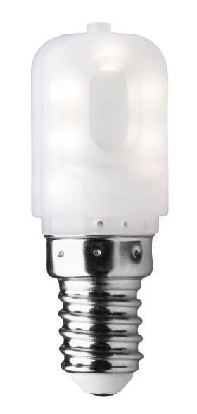 LED T22 päron E14 2.5W vit