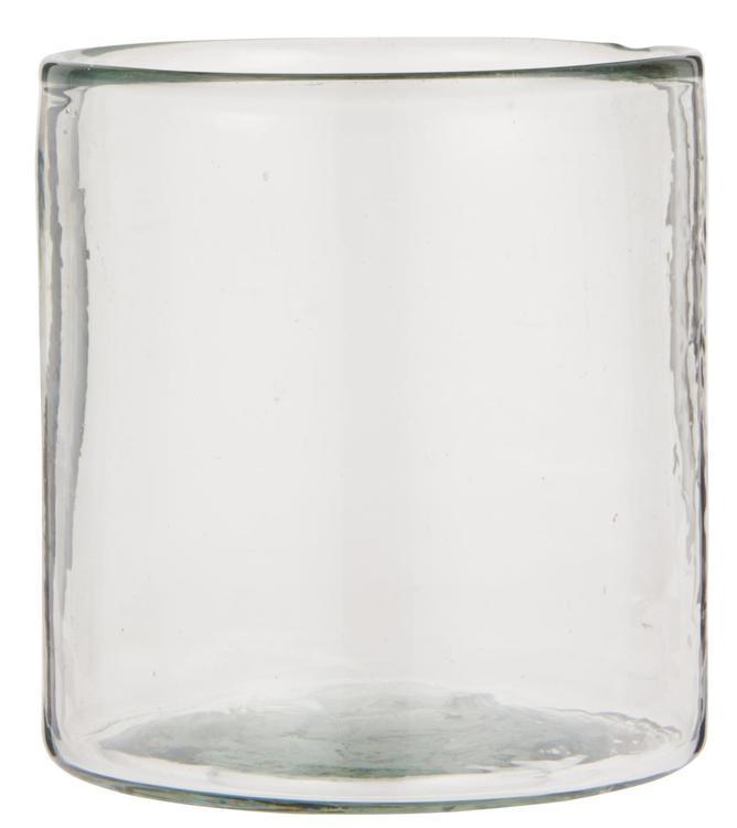 Liten Lykta i munblåst glas