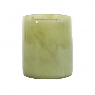 Ljuslykta tell me more  smal oliv grön