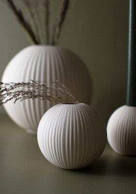 Vena Liten vit keramikvas