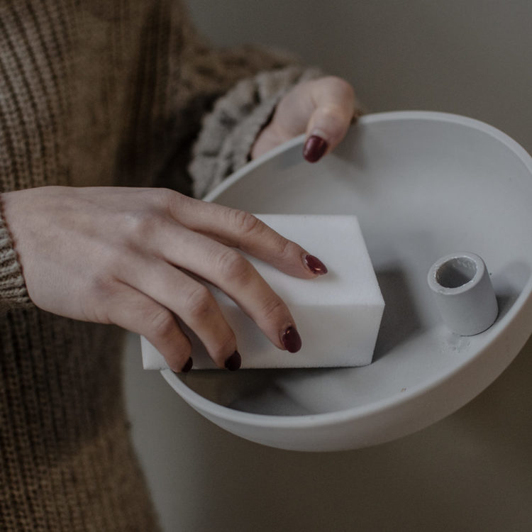 Rengöringssvamp Tvättsvamp till matt keramik