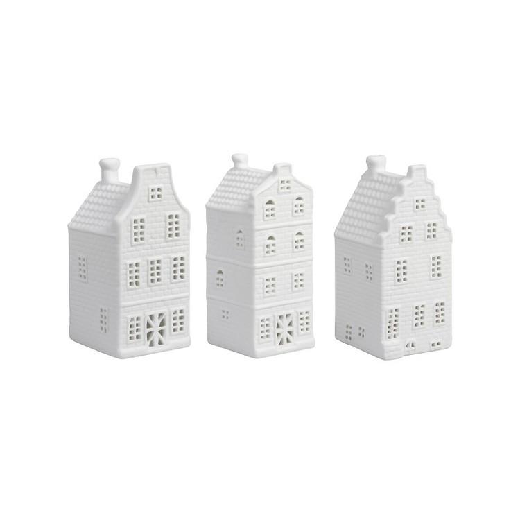 Ljushus i sett med  3 olika hus . variant 1
