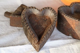 Trä bakform UNIKA  hjärta 2