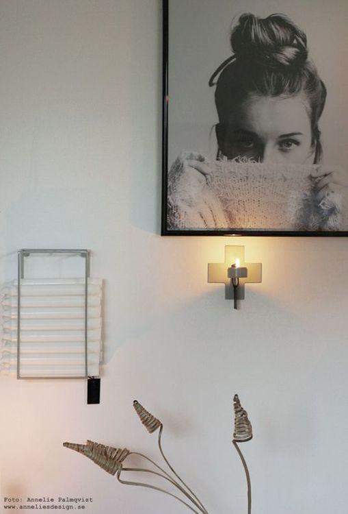 Ljusförvaring ljushållare ljusgrå