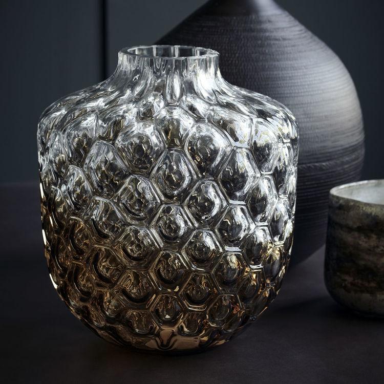 Vas, Art Deco, Brun House Doctor