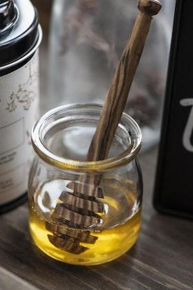 Honungssked Olivträ