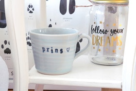 Keramikmugg Prins - Pusspuss Company