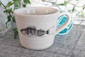 Keramikmugg Abborre - Pusspuss Company