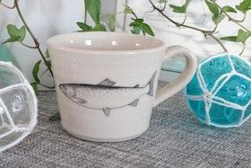 Keramikmugg Lax - Pusspuss Company