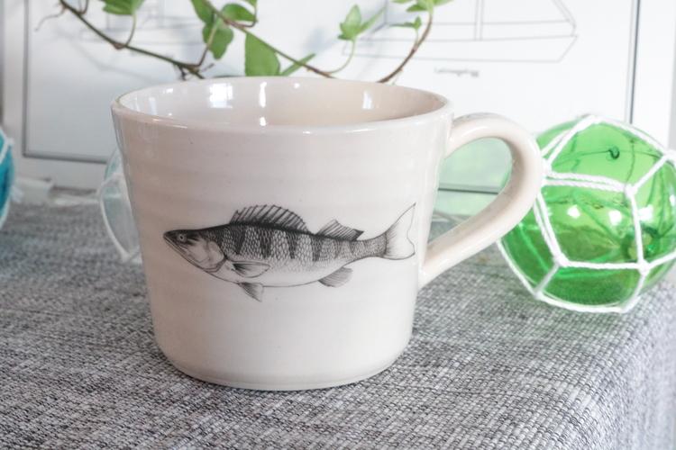 Keramikmugg Gös - Pusspuss Company