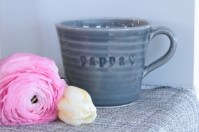 Keramikmugg Pappa - Pusspuss Company