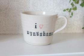 Keramikmugg I love nynäshamn - Pusspuss company