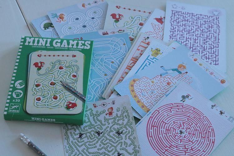 Mini games, labyrint - Brigbys
