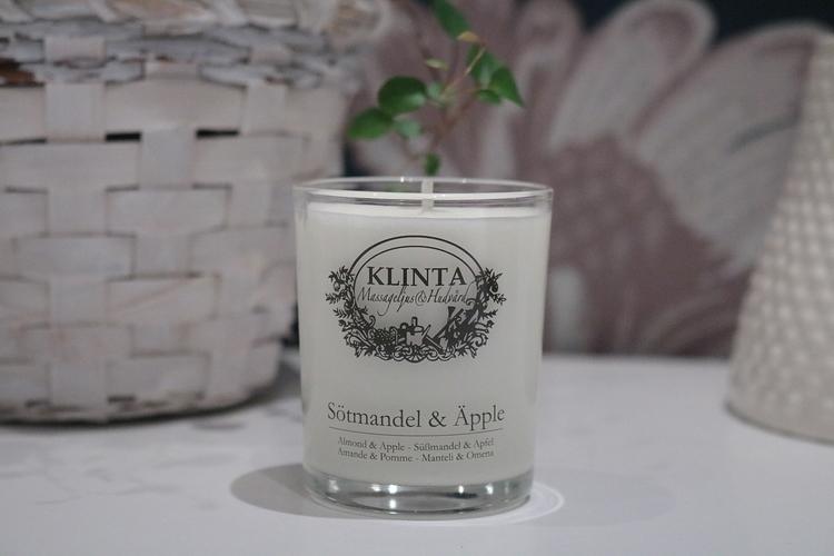 Massageljus Sötmadel och äpple - Klinta & Co