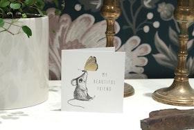 Kort My beautiful friend - Cards by Jojo