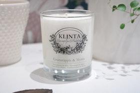 Massageljus Granatäpple och mynta - Klinta & Co