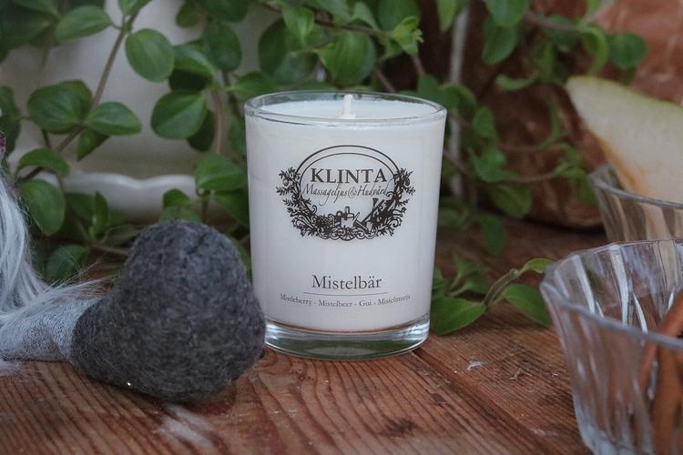 Massageljus Mistelbär - Klinta & Co
