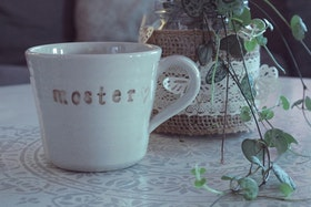 Keramikmugg Moster - Pusspuss Company