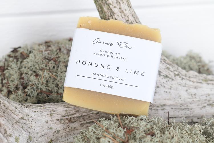 Tvål Honung och Lime - Annas Eko