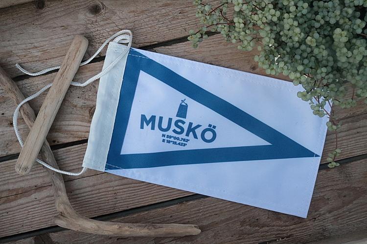 Båtvimpel Muskö