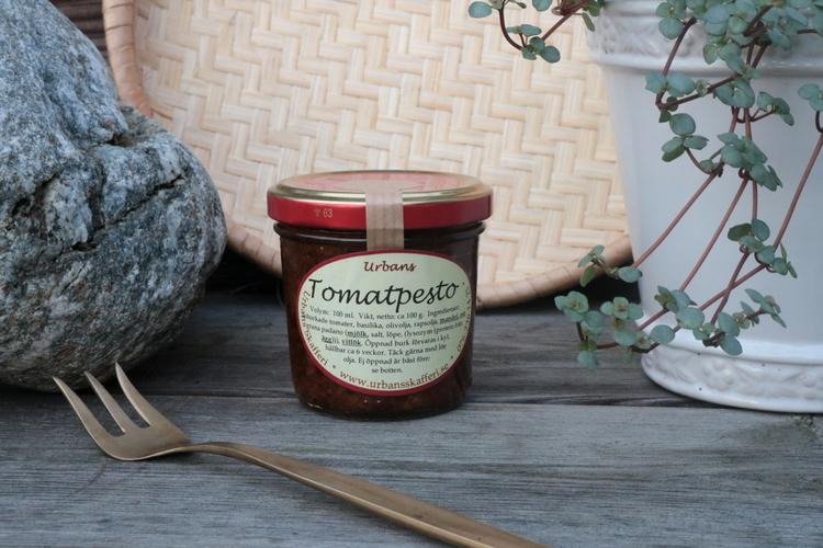 Tomatpesto 100 ml - Urbans Skafferi