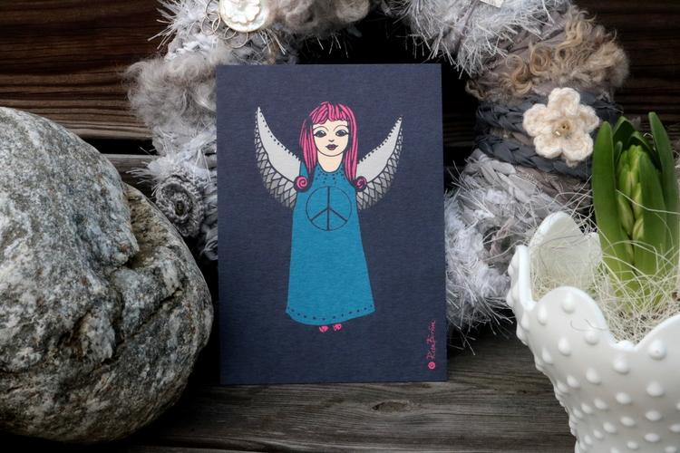 Kort Ängel - Rita Börlin