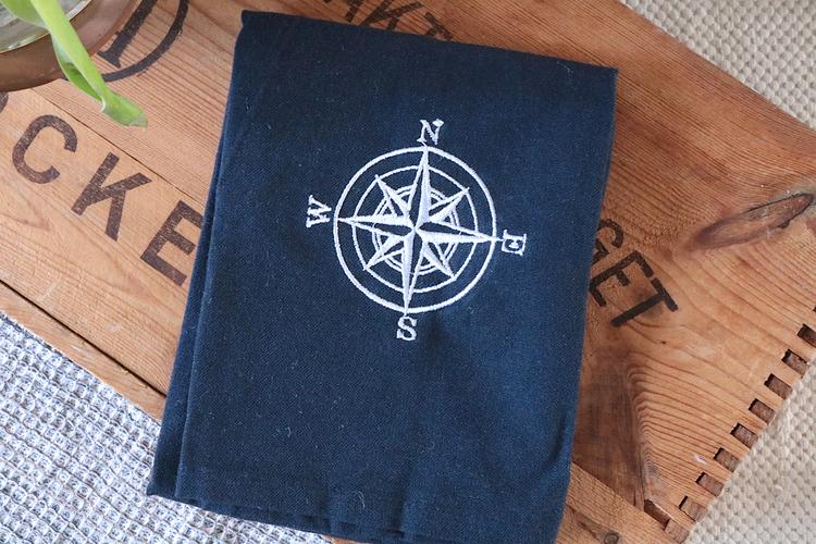 Kökshandduk kompass - Wasa ecotextil