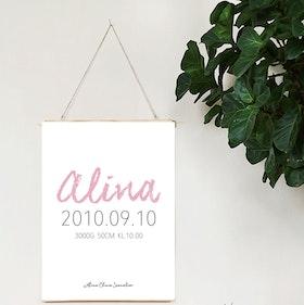 Födelseposter Alina