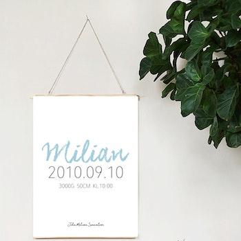 Födelseposter Milian