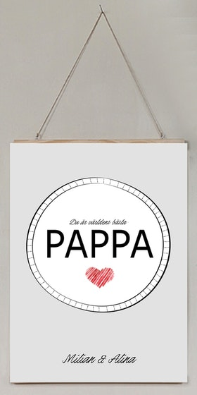Du är världens bästa pappa