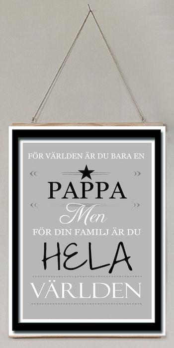 Pappa- världen