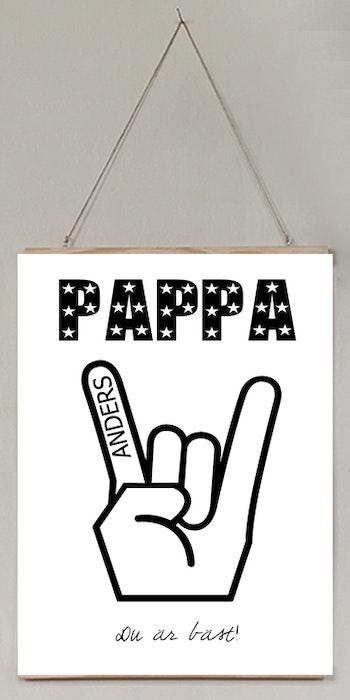 Pappa du är bäst!