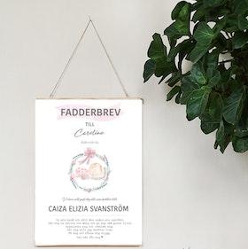 Fadderbrev, Lilla flickan